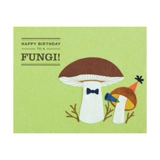 Fungi-mushroom-birthday-card