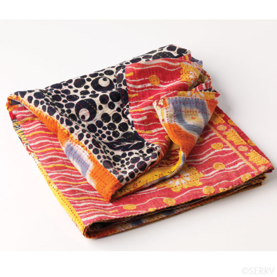 kantha throw 2