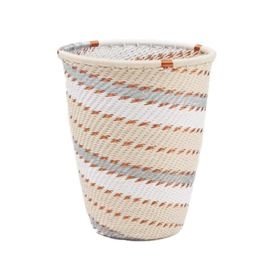 telephone wire cup silver sea