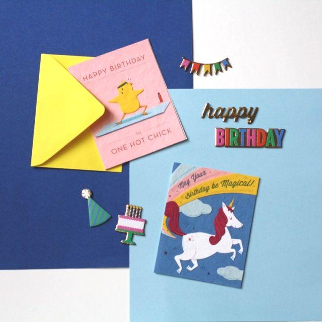 handmade bday cards