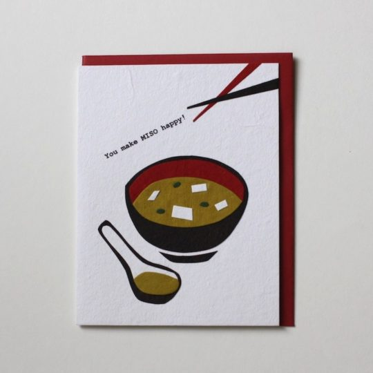 miso happy card