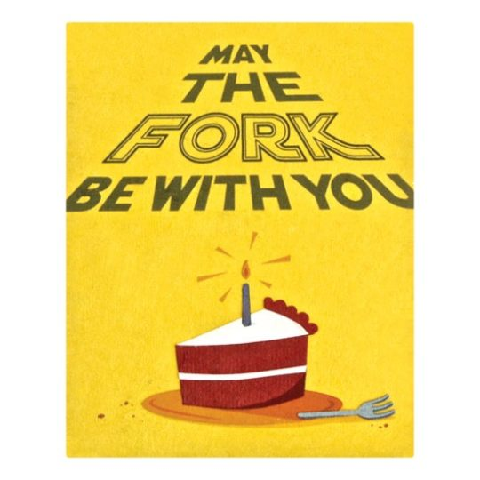 fork be with you card
