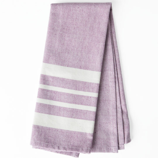 kitchen towel eggplant