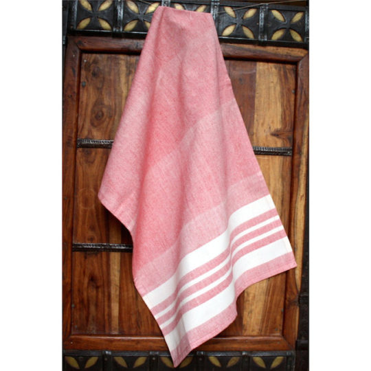 kitchen towel tomato
