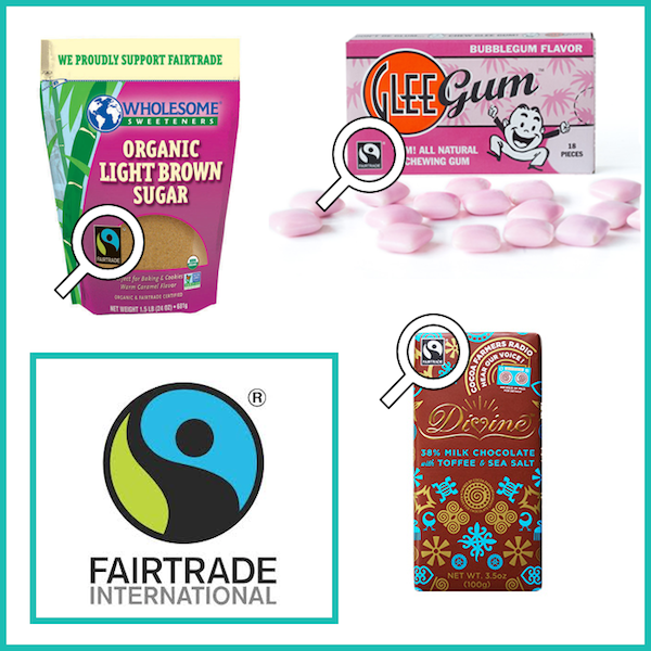 fair trade international logos