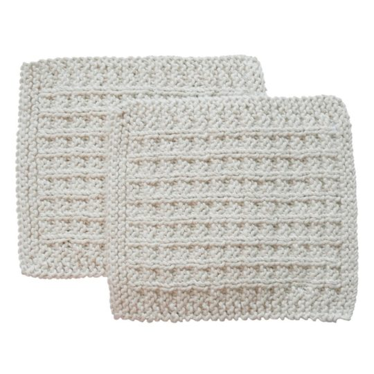 organic cotton wash cloths square