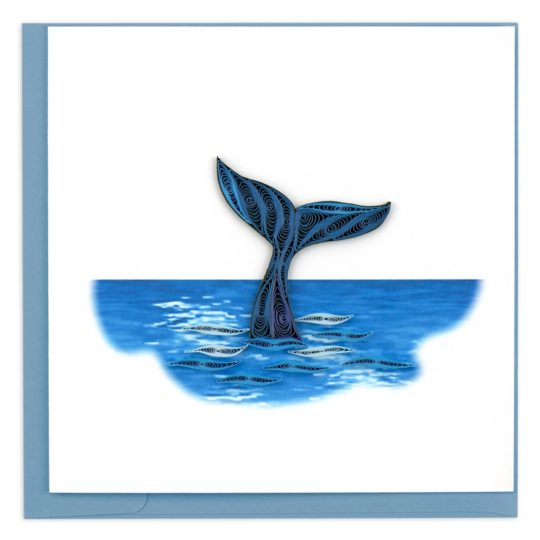 whale tail wuilling card