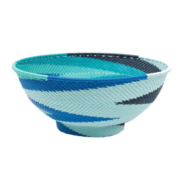 large ocean telephone wire bowl