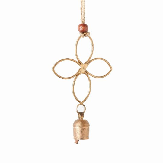Air element bell chime quatrefoil