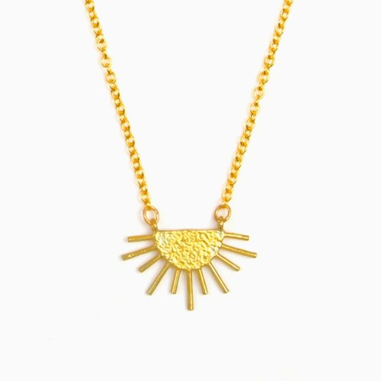 Brass_Sun_Ray_Necklace