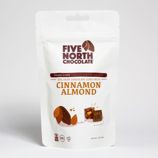 cinnamon almond chocolate bites