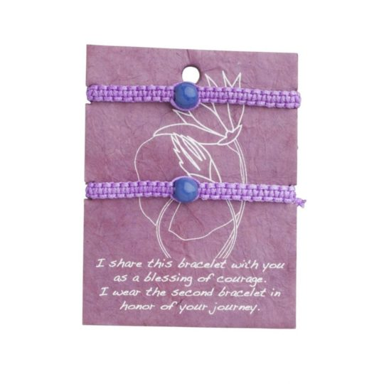 Courage friendship bracelets