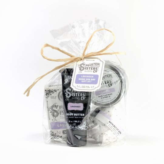 Home-Spa-Day_Lavender gift set