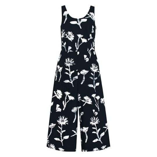 Jumpsuit Wildflower Black