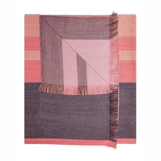 Reversible-Alpaca-Throw-Peach-Bloom