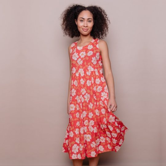 Santa Monica Dress Cherry