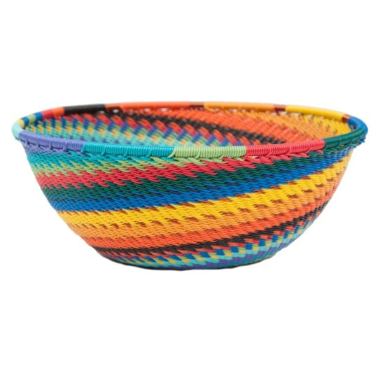 african spirit telephone wire medium bowl