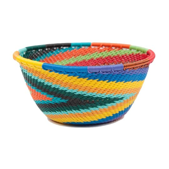 african spirit telephone wire small bowl