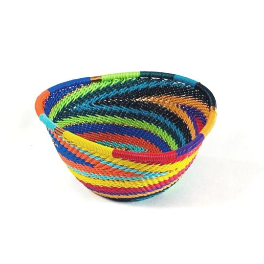 african spirit telephone wire triangle bowl