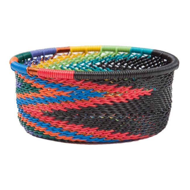 arfican rainbow telephone wire tuna tin