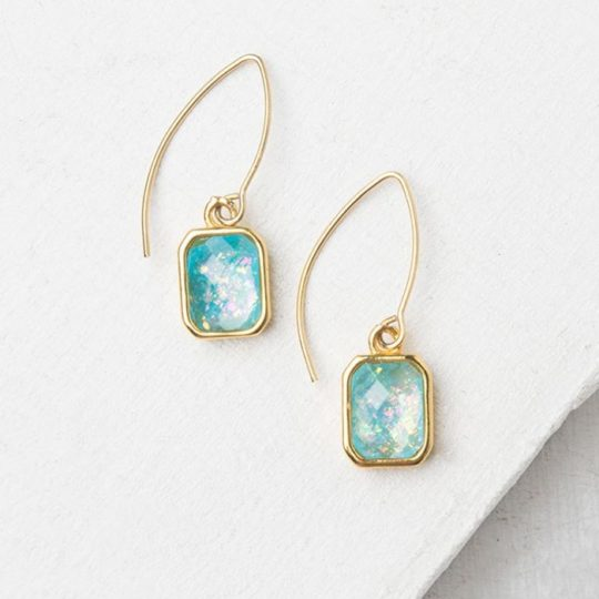 alexa sky blue earrings