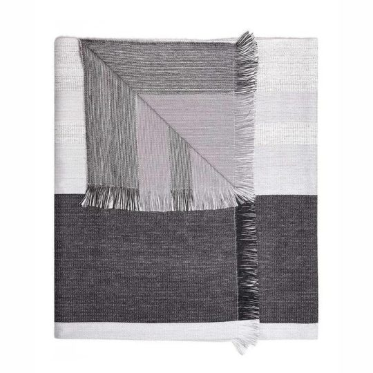 alpaca reversible throw monochrome 1