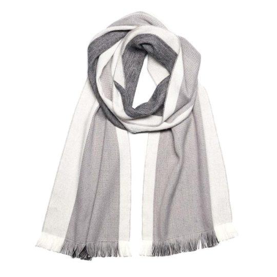 alpaca scarf reversible jet stream