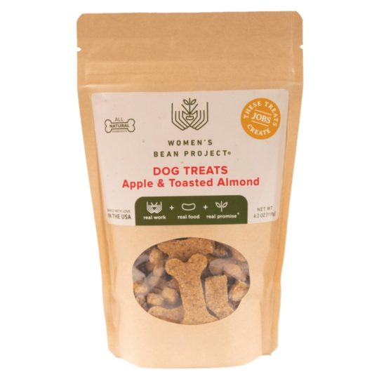 apple toasted almond dog treats