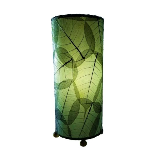 banyan leaf table lamp green