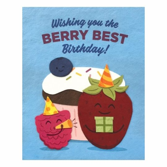 berry best birthday card