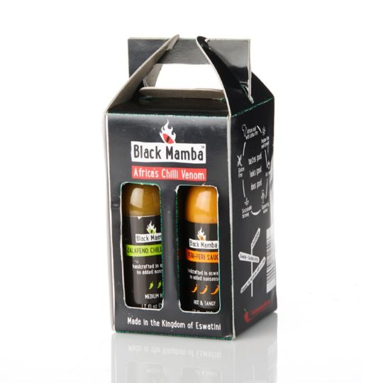 black mamba hot sauce set