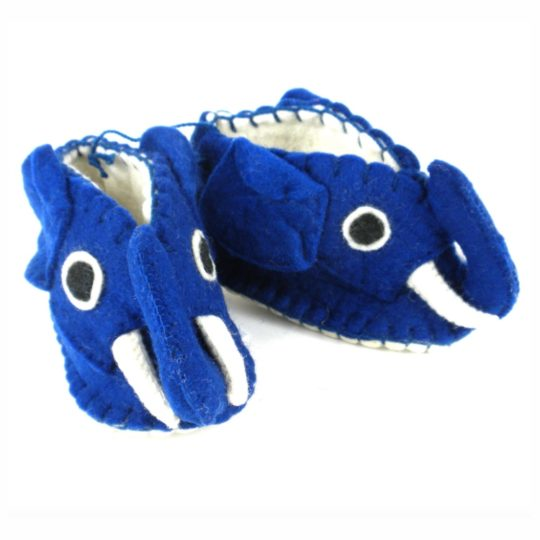 blue elephant felt zooties