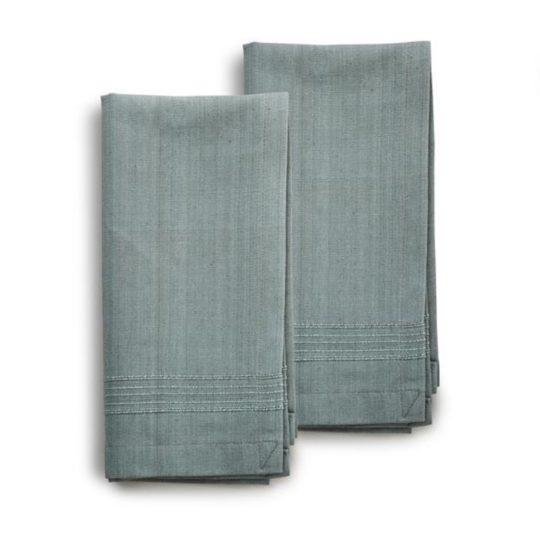 celedon woven cotton napkins