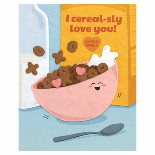 cerealsly love you card