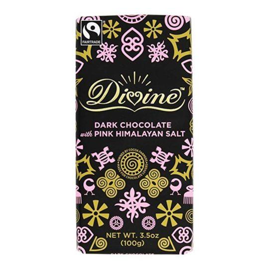 divine chocolate pink himalayan salt