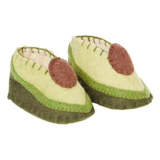 felt avocado zooties