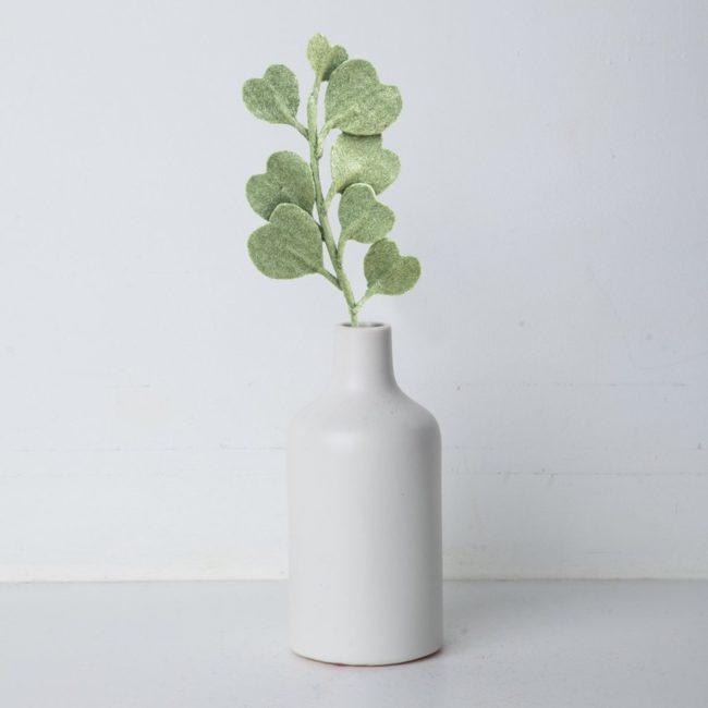 felt eucalyptus soft green