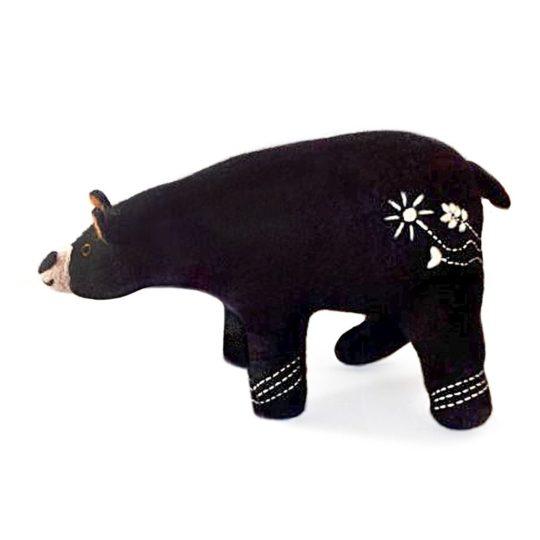 felt mama bear
