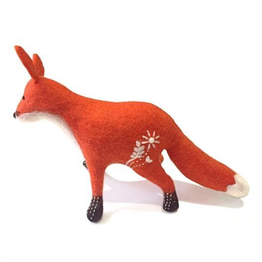 felt mama fox