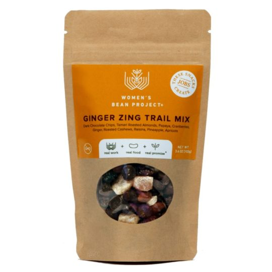 ginger zing trail mix
