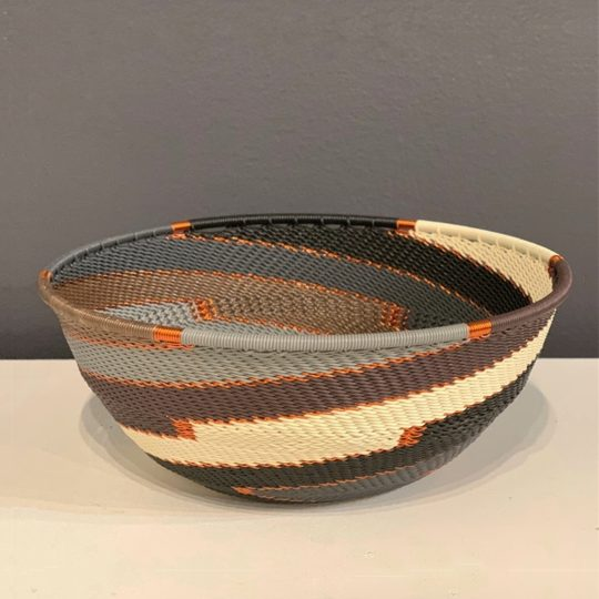 grey mist telephone wire medium bowl