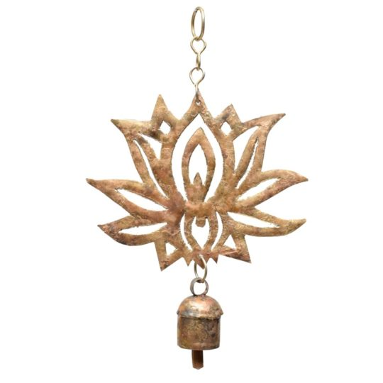 hand cut lotus chime