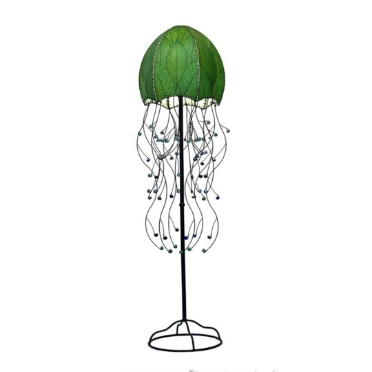 jellyfish leaf floor lamp