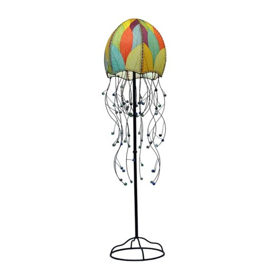 jellyfish leaf floor lamp multi