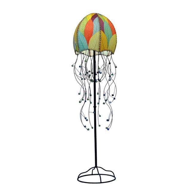 jellyfish leaf floor lamp multi