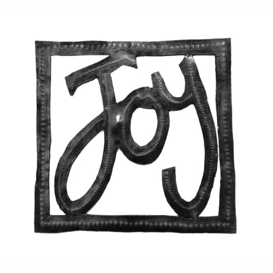 joy square oil drum sign