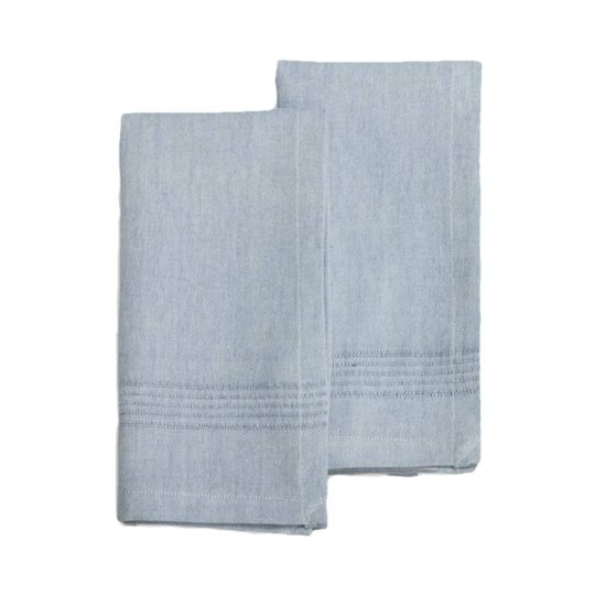 juniper berry cotton napkins