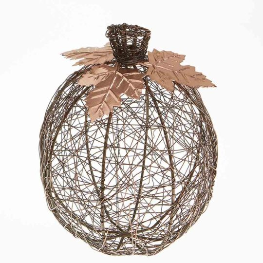 arge copper wire pumpkin
