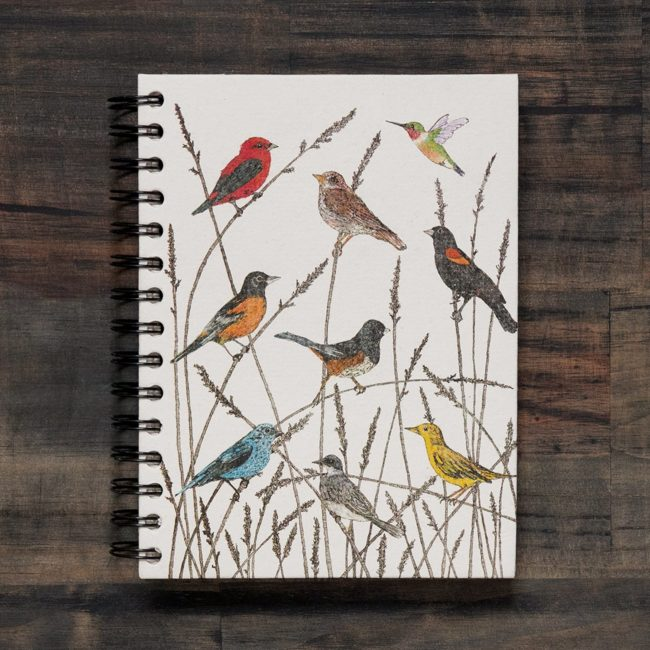 large-notebook-wild-birds
