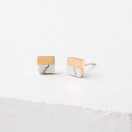 leisl square studs